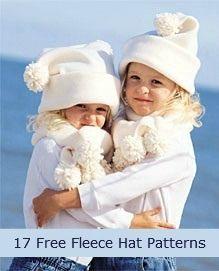 17 Free Fleece Hat Patterns