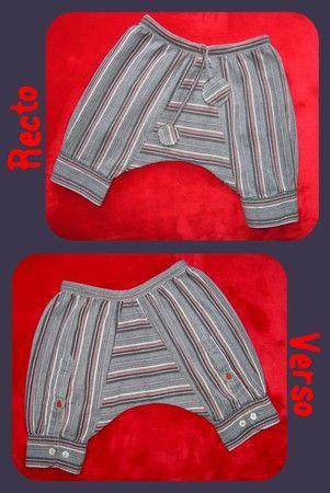 recycle chemise >sarouel bb
