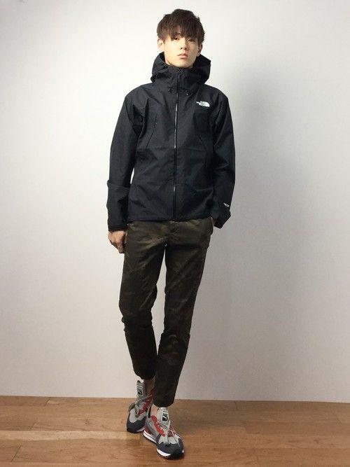 ZOZOTOWN|gaku kumazawaさんのマウンテンパーカー「ザ・ノース・フェイス メンズマウンテンジャケット / クライムライトジャケット(THE NORTH FACE|ザノースフェイス)」を使ったコーディネート