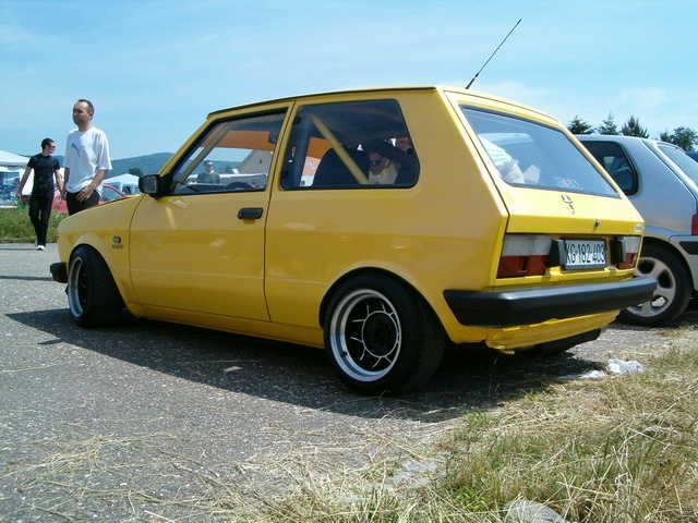 A Tricked Out Yugo Why Not Cool Whips Pinterest