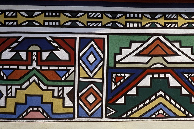 119 best images about ndebele african patterns on pinterest for Best tribal house
