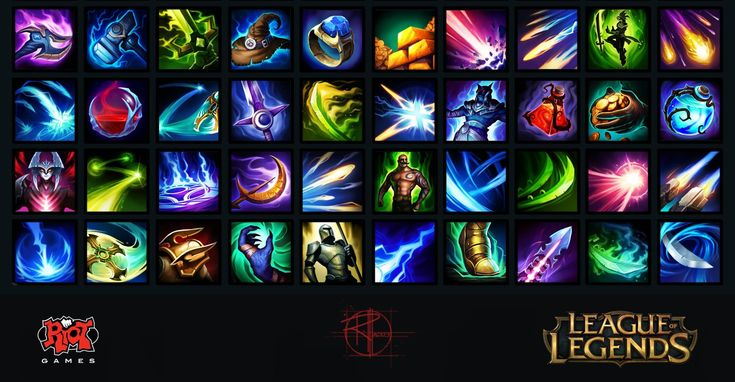 ArtStation - League of Legends Icon Set 1 , Randall Mackey