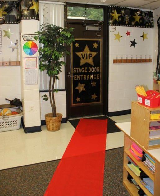 Classroom Decoration For Grade 5 : Vip stage door hollywood thened classroom decoration