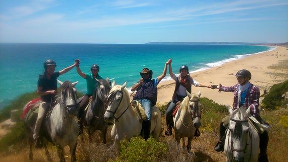 Horse Riding, Yoga, Meditation and Hikke Holiday in Andalusien, in a Natural Park near the beach (14 days)
