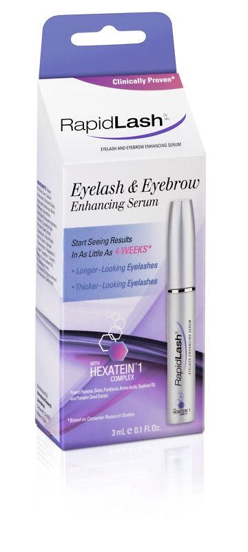 RapidLash-this works awesome for both brows and eyelashes!