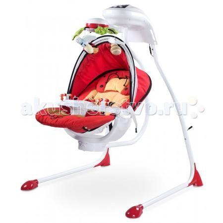 Caretero Bugies  — 10400р. -------------------------------------  Сaretero Электронные качели Bugies  Bugies это качели люлька. Была создана для самых требовательных родителей. Благодаря удобной люльке, 5-точечным ремням, подвеске с забавными игрушками, мелодиями и многими другими функциями, Bugies является идеальным местом для отдыха ребенка в течение дня Качели предназначены для детей с первых дней жизни, с массой тела до 12 кг Возможность быстрой сборки рамы качелей для удобного хранения…