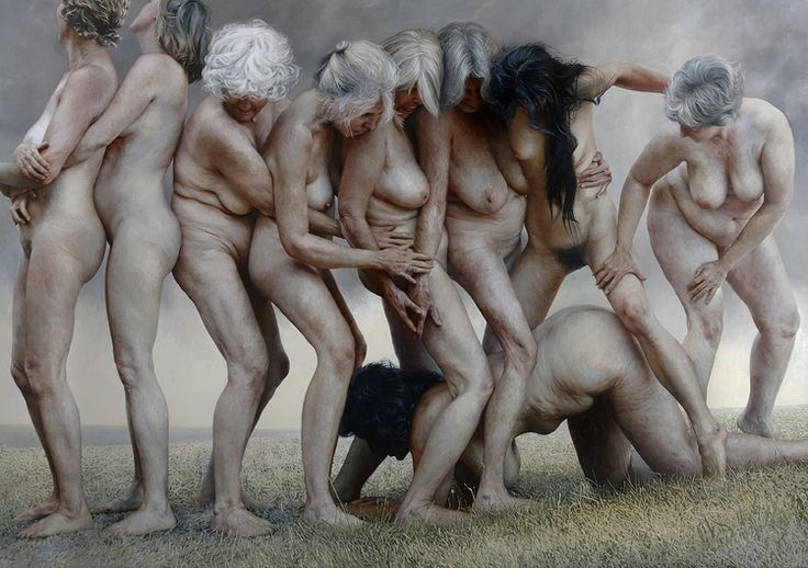 """NEW PAINTINGS FROM ALEAH CHAPIN'S """"AUNTIES PROJECT"""""""