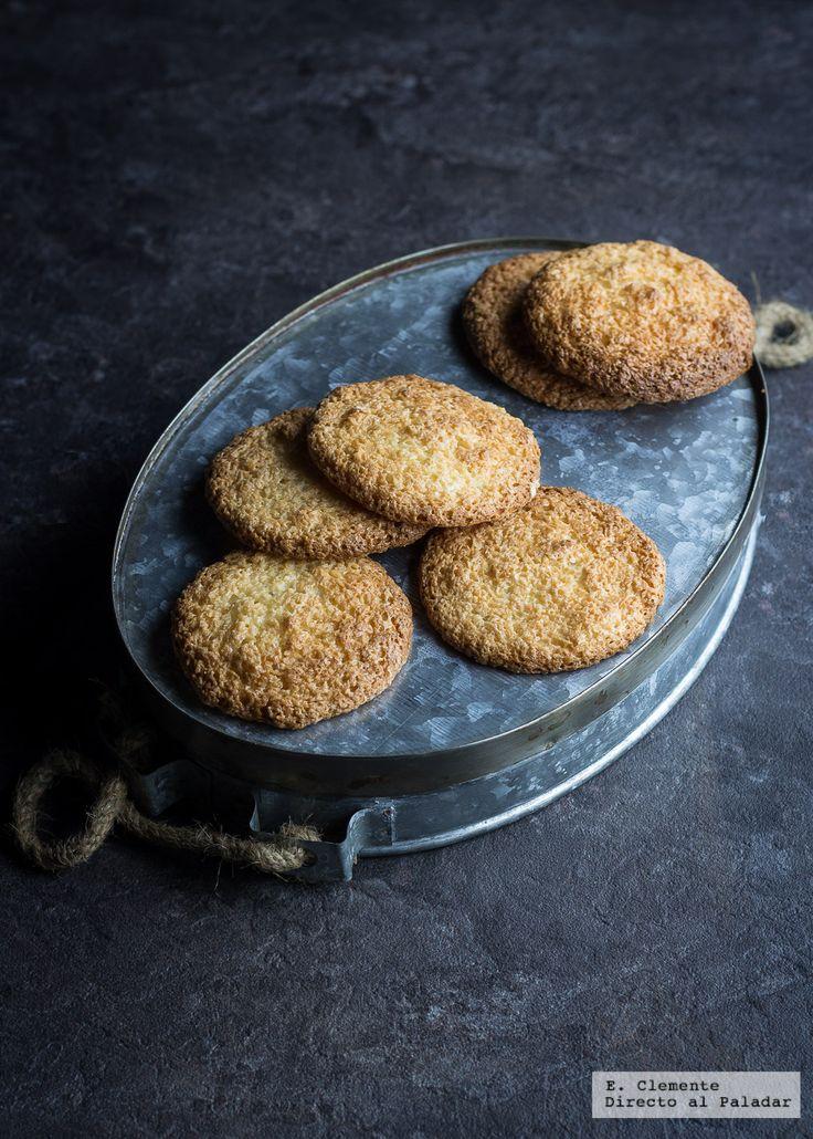Congolais: galletas de coco