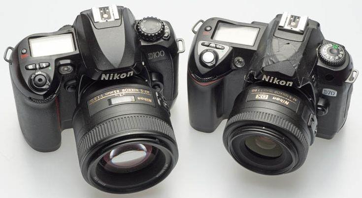 Digitalkamera-Museum: Nikon DSLR D70 D100