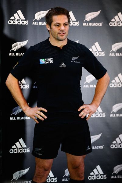 Richie Mccaw Photos - New Zealand All Blacks Rugby World Cup Jersey Launch…