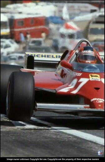 Gilles !! Ferrari 126CK Jarama 1981