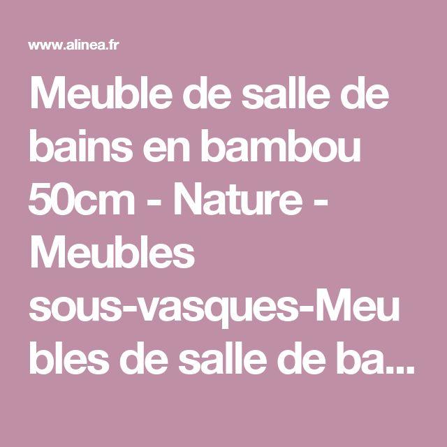 1000 id es sur le th me salle de bain en bambou sur pinterest d corations asiatiques chambre for Echelle bambou salle de bain alinea