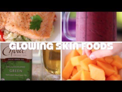 ♥ 5 Foods For Glowing Skin (MY Healthy Skin Diet) | Rachel Talbott ♥ - YouTube