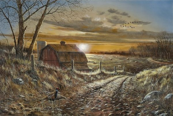 Picture of A Road Less Traveled  Jim Hansel  Rudi
