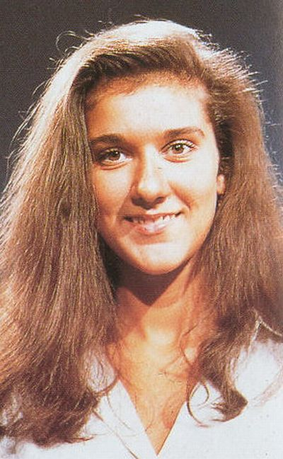 CELEBRITIES WHEN THEY WERE KIDS - CELINE DION