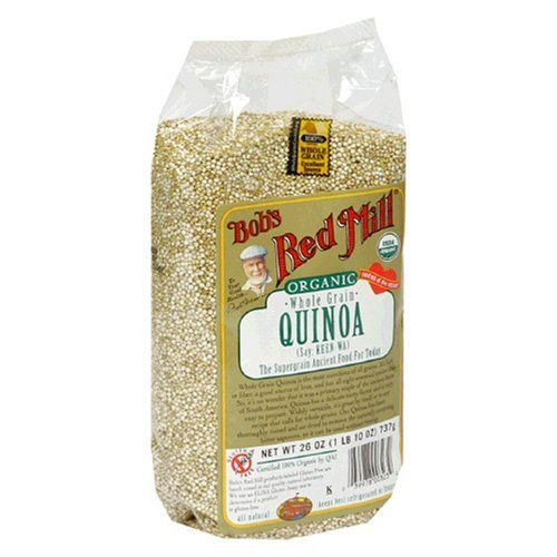 Bob's Red Mill Organic Grain Quinoa, 26-Ounce Packages (Pack of 4) by Bob's Red Mill, http://www.amazon.com/dp/B000EDG3UE/ref=cm_sw_r_pi_dp_egSLqb176WJVH