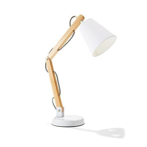 Wooden Spotlight Lamp | Kmart