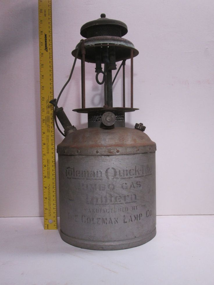 Coleman Quick Lite Jumbo Gas Lantern Old Stoves And