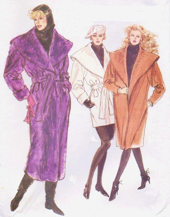 68 besten Vintage 1980s Sewing Patterns and Inspirations Bilder auf ...