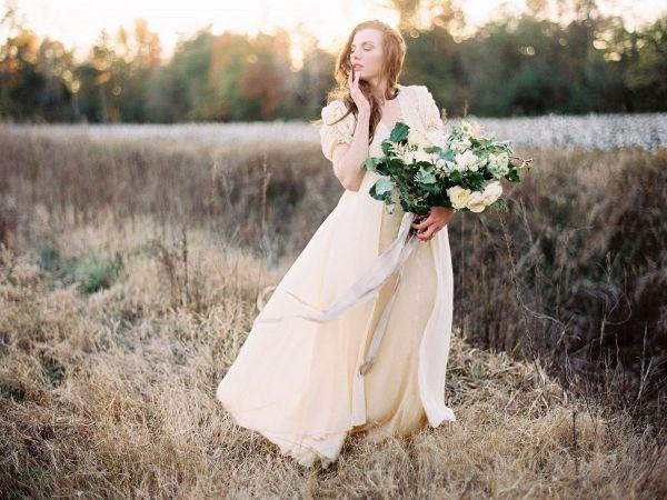 Cotton field bride    #wedding #weddingideas #aislesociety #fineartwedding