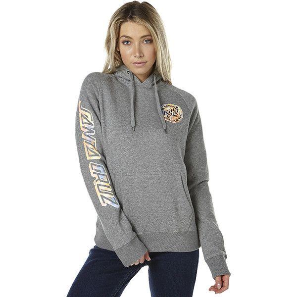 Santa Cruz Cali Dot Womens Pop Hood (85 AUD) ❤ liked on Polyvore featuring tops, hoodies, grey, pull over hoodies, women, polka dot top, cotton hoodie, hooded sweatshirt, drawstring hoodie and grey top
