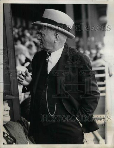 1937 Press Photo Vice President John Nance Garner at Kentucky Derby | eBay