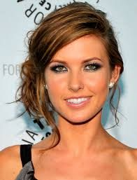 Image result for short hair upstyles