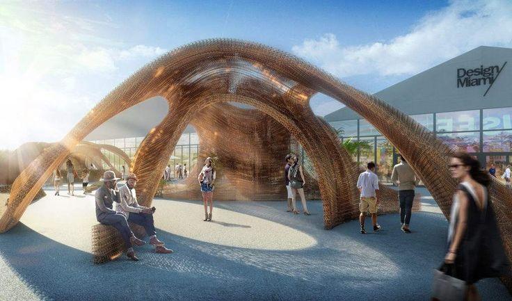 SHoP Architects' pavilion: Flotsam Jetsam Image via: SHoP Architects