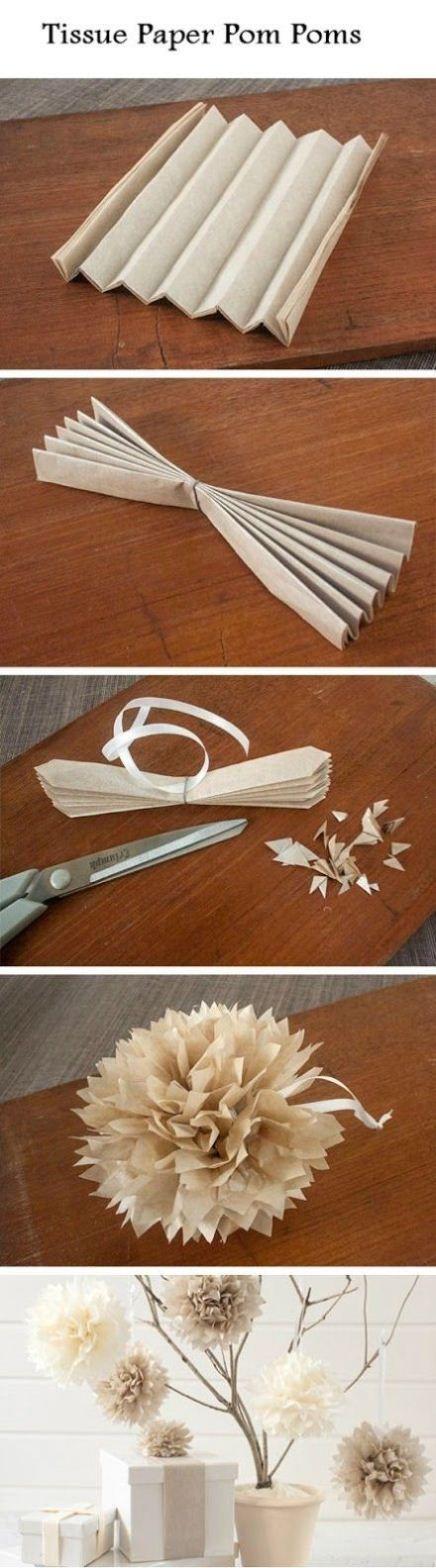 Claveles hechos con bolsas de papel                                                                                                                                                      Más