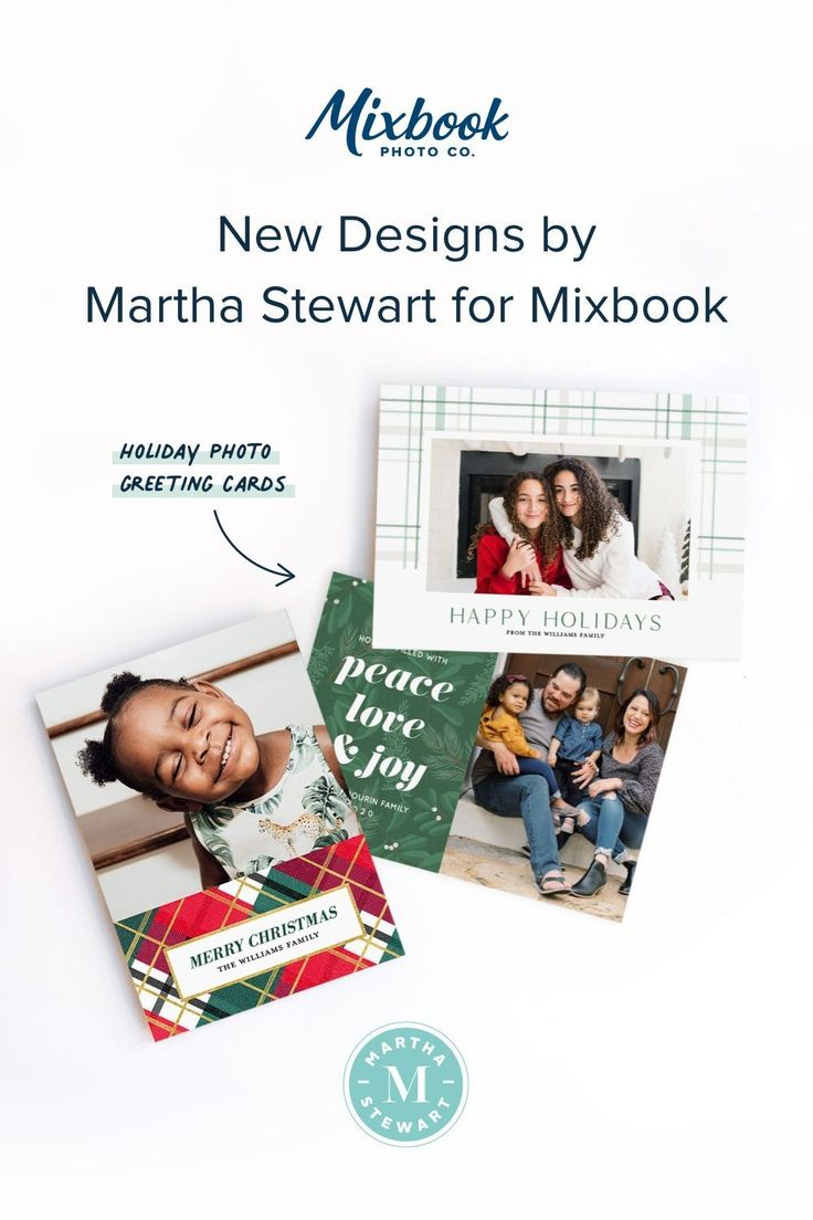 2020 Holiday Greeting Cards by Martha Stewart for this