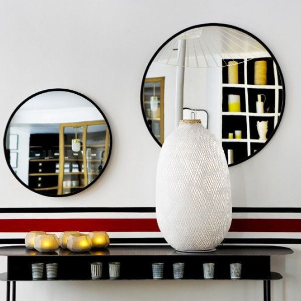 miroir bulle sarah lavoine le majestueux miroir bulle se distingue par la pr cision de sa forme. Black Bedroom Furniture Sets. Home Design Ideas