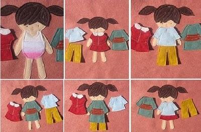 Maureen Cracknell Handmade: Paper Doll Pillows : :