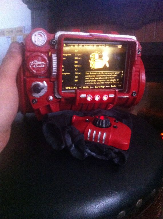 AUGUST SALE Nuka 3000 Pip-Boy 3D Printed Fallout by AnimaSpiritus