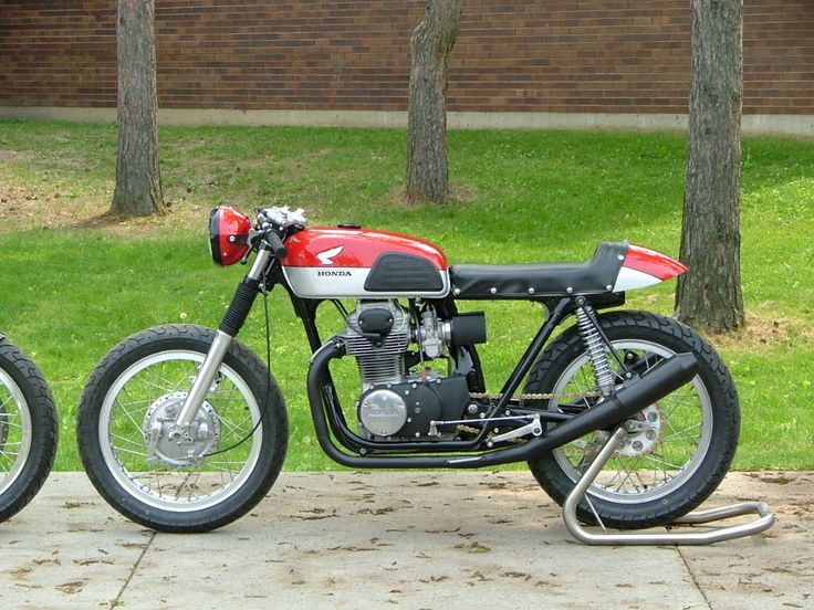 A stellar CB350 Cafe Build-off by a Couple of high school technology departments! « Motorcycle Photo Of The Day