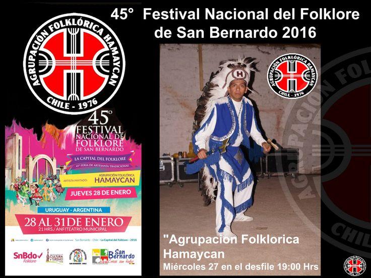 """""""Agrupacion Folklorica Hamaycan el Miércoles 27 en el desfile 19:00 Hrs. y el Jueves 28 de Enero, Al cierre del evento https://www.youtube.com/watch?v=_oGFtARx-2E&feature=youtu.be"""