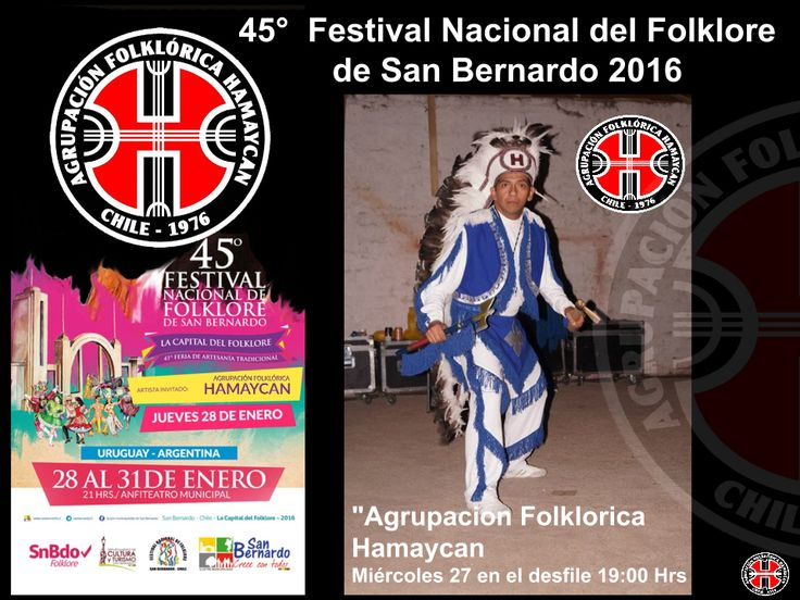 """Agrupacion Folklorica Hamaycan el Miércoles 27 en el desfile 19:00 Hrs. y el Jueves 28 de Enero, Al cierre del evento https://www.youtube.com/watch?v=_oGFtARx-2E&feature=youtu.be"