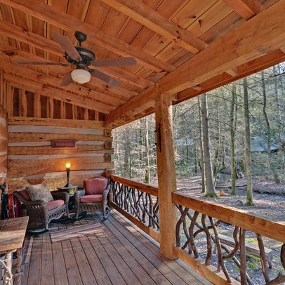 58 best deck ideas images on pinterest frostings my for Rustic porches and decks