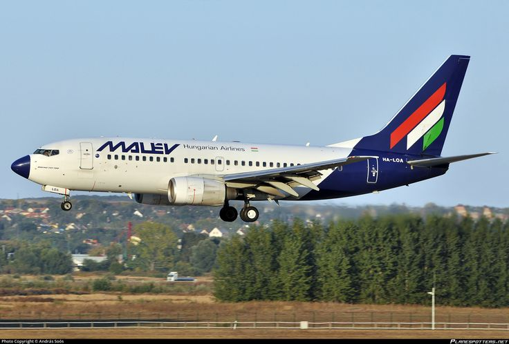 HA-LOA Malév Hungarian Airlines Boeing 737-7Q8