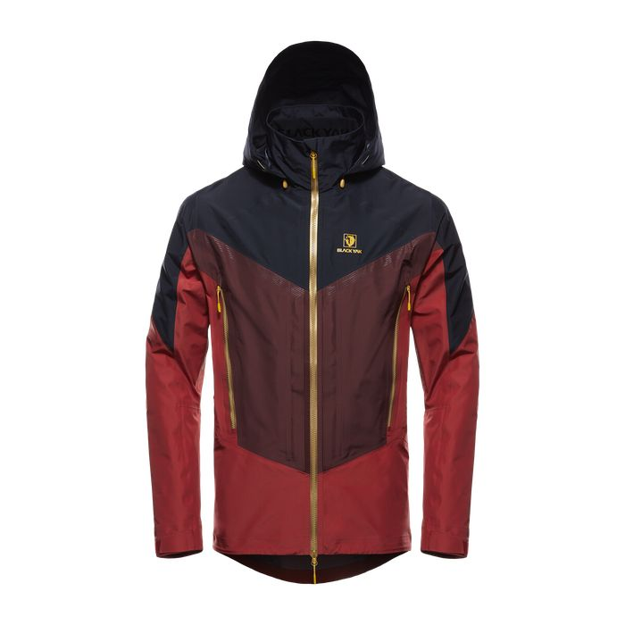 GORE-TEX® Pro Shell 3L Jacket – Rosewood – FRONT – GJF6001