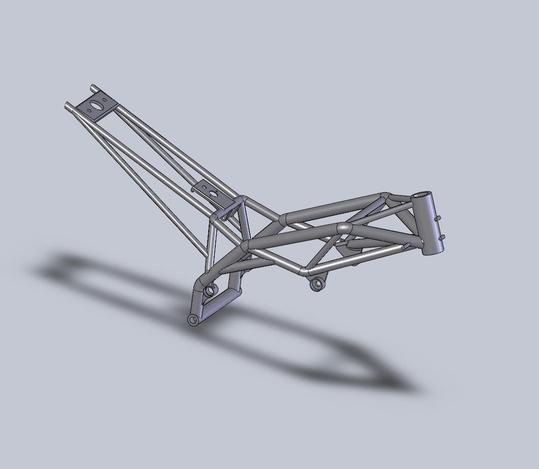 Cagiva raptor frame