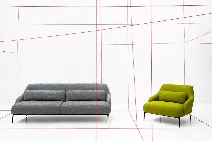 Lima Lounge by Claesson Koivisto Rune for Tacchini. Available for Stylecraft.