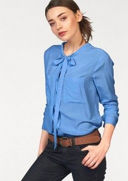 Halenka s vázačkou, Tom Tailor Denim #avendro #avendrocz #avendro_cz  #fashion #discount #blouse #tomtailor