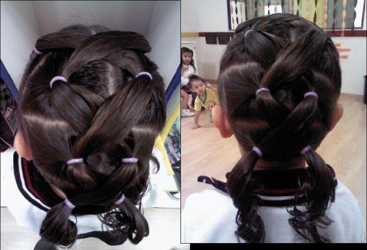 Chongos cruzados Peinados para nia Pinterest Chongos - Braid Hairstyles
