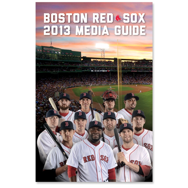 boston red sox media guide 2012