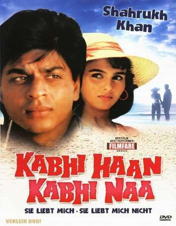Kabhi Haan Kabhi Naa 1994 Hindi 450MB DVDRip 480p Download Movie