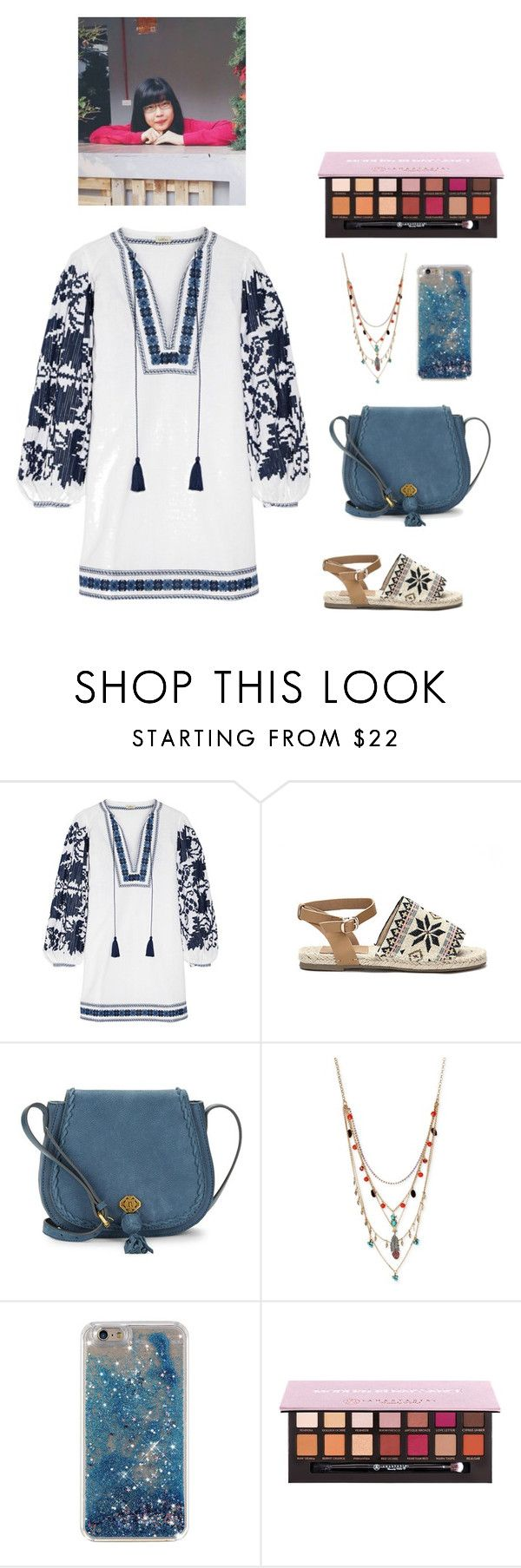 """""""Flying with your love"""" by lynguyen-i ❤ liked on Polyvore featuring beauty, Talitha, Nanette Lepore, Betsey Johnson and Anastasia Beverly Hills"""