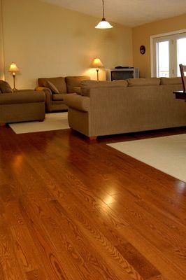 Oak Hardwood Flooring Lehouse Solid Gunstock At Lowes Tiles Floors And Countertops Pinterest