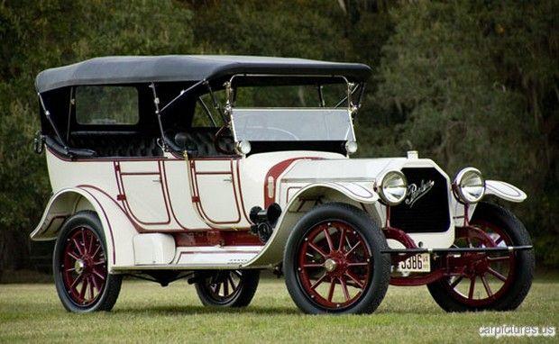 1915 Peerless Seven Passenger Touring Peerless Motor