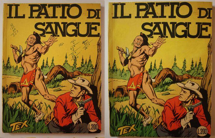 TEX SPILLATO NUMERO 7 NON CENSURATO - ''IL PATTO DI SANGUE'' www.atelierdangelone.it