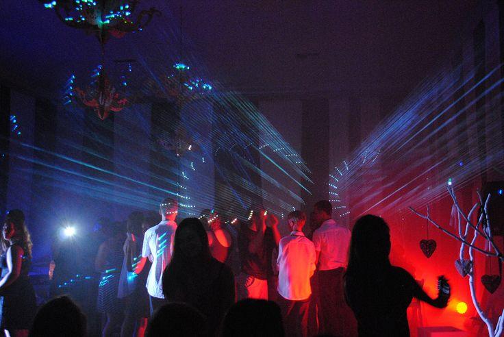 Lasershow @ 16th birthday